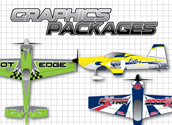 RC Airplane Graphics Packages
