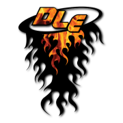 DLE Flame Decal