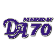 Powered by DA 70 Decal