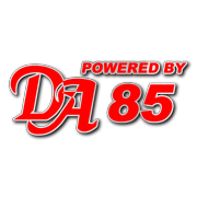 Powered by DA 85 Decal