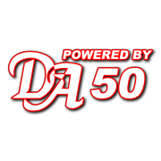 Powered By DA 50 Decal