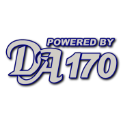 Powered By DA 170 Decal