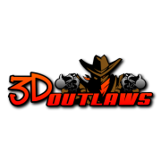 3d outlaw Decal