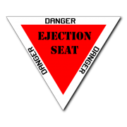 ejection seat Decal