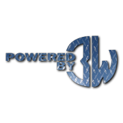 Powered By 3W Decal Decal