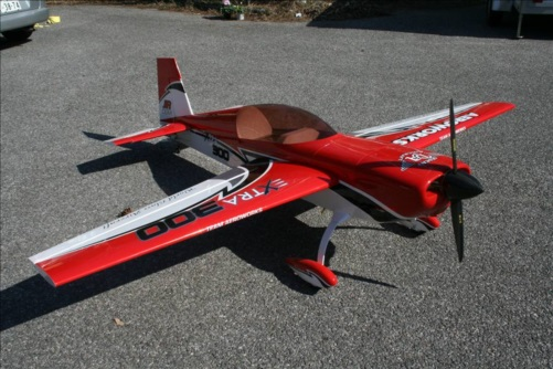 Another view of an AW Extra 300 graphics package