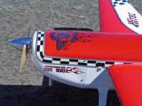 Cowl graphics on the Aeroworks Extra 260