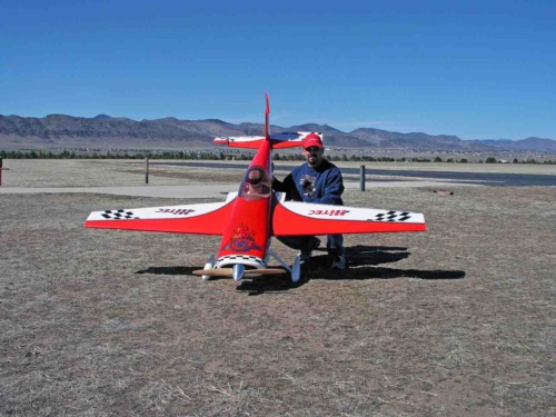 Michael and his Aeroworks Extra 260