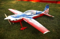Extreme Flight Edge 540 with a printed graphics package