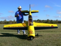 Rennie Ladines and his Yak54