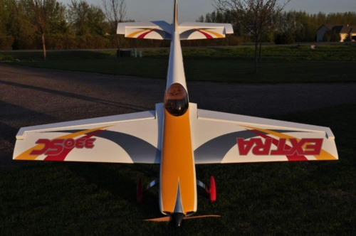 Awesome scratch built Extra 330