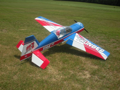 Extreme Flight Yak 54 with our graphics