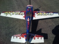 This is a scheme we designed and it is all digitally printed. This plane looks killer.