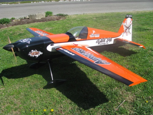 Aerotech Hyperlite slick with digital graphics
