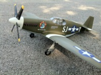 P51 fighter with some custom decals