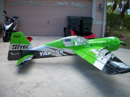 Here is a really nice Pilot yak in the race green scheme