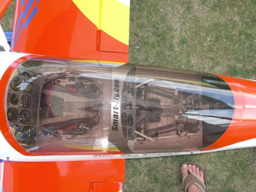 cockpit graphics in a Pitts