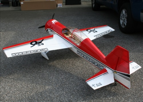 Nice Extreme Flight Yak 54 in custom colors
