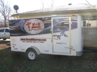 Just finished the graphics on our new trailer