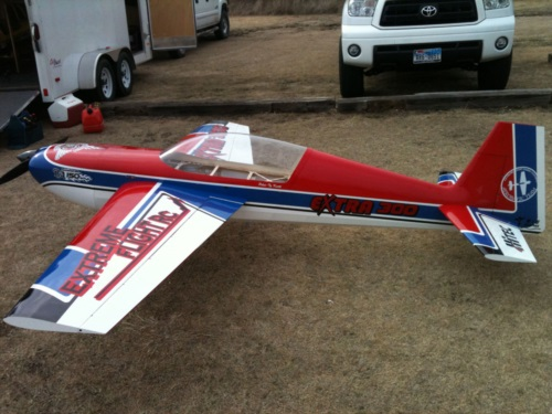 125 inch Extreme Flight Extra 300
