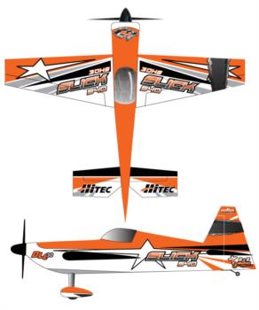 3DHobbyShop AJ Slick - Orange3 Graphic Package