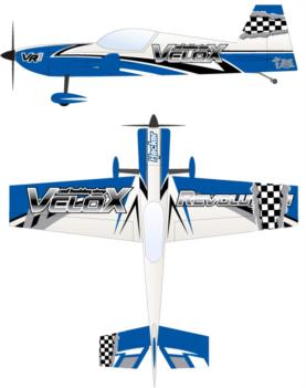 3DHS Velox Revolution blue Graphic Package