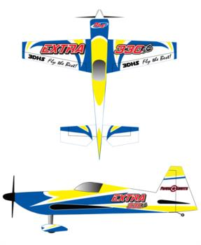 3D Hobby Shop Extra 330 Graphic Package 1