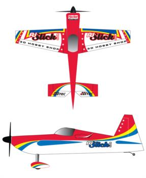 3D Hobby Shop AJSlick - red Graphic Package