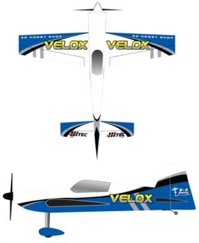 3D Hobby Shop Velox Graphic Package
