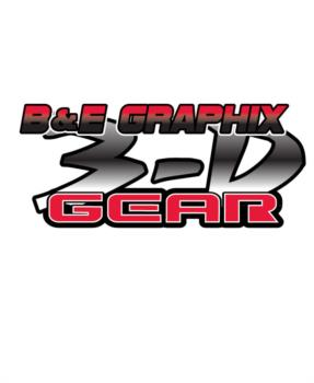 B&E Graphix 3D Gear  rc digital decal