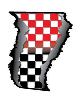 Checker fade rip rc digital decal
