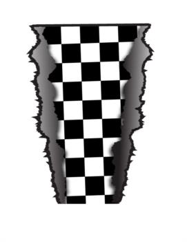 Checker Rip rc digital decal