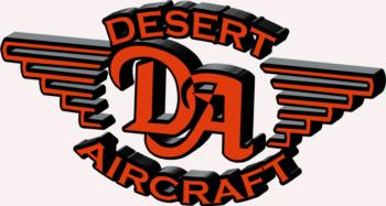 3D Desert Aircraft - orange rc digital decal