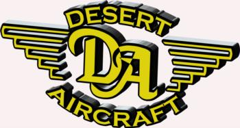 3D Desert Aircraft - yellow rc digital decal
