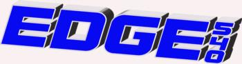 3D Edge 540 - blue rc digital decal