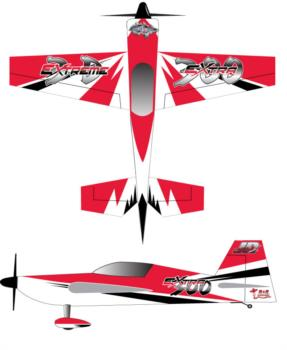 Extreme Flight Extra Extreme 3D Graphic Package
