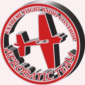 3 Dimensional Extreme Flight round- red rc digital decal