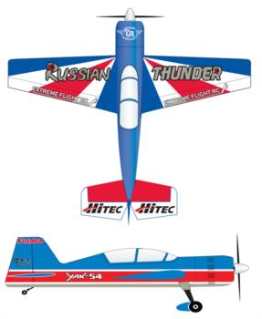 Extreme Flight Russian Thunder-3 Graphic Package
