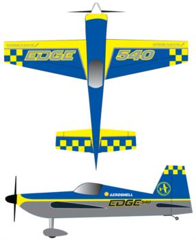 Extreme Flight Edge 540T Graphic Package