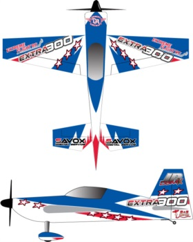 Extreme Flight Extra V102 Blue