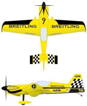 extreme flight mxs 60in yellow3