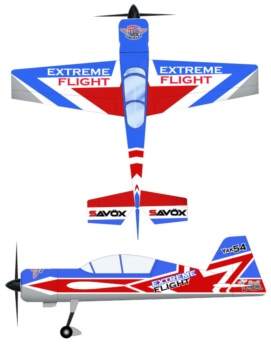 Extreme Flight Yak Star Scheme V1