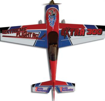 Extreme Flight Extra 300 red/white Graphic Package