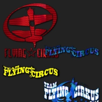 FlyingCircus digital rc digital decal