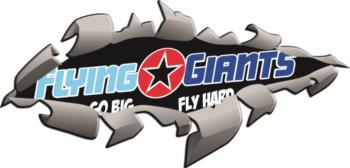 Flying Giants Rip out rc digital decal