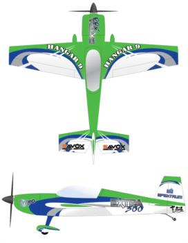 Hangar 9-Carden Extra 300 V3 Graphic Package