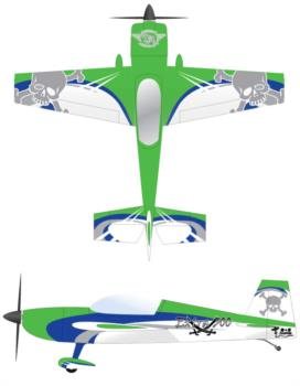 Hangar 9-Carden Extra 300 V4 Graphic Package