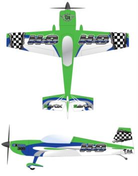 Hangar 9-Carden Extra 300 V5 Graphic Package