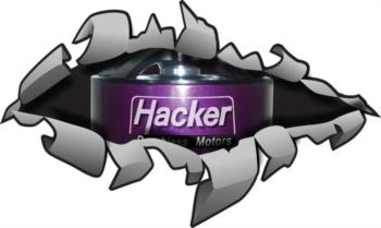 Hacker Rip Away 1 rc digital decal