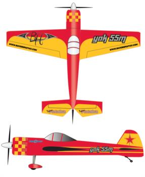 Hempel Yak 55 - red 1 Graphic Package 1